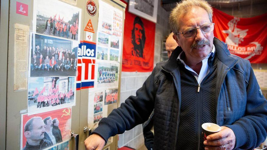 El candidato del Partido de la Izquierda Europea a presidir la Comisión Europea, Nico Cué.
