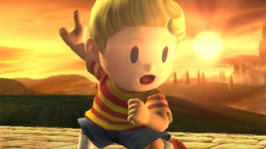 Lucas Super Smash Bros