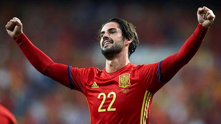 El malagueño Isco, un bastión de la selección española de fútbol