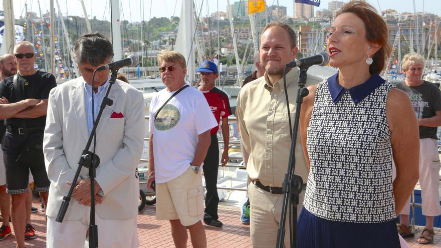 Inauguración de la regata ARC en Las Palmas de Gran Canaria. (Alejandro Ramos).