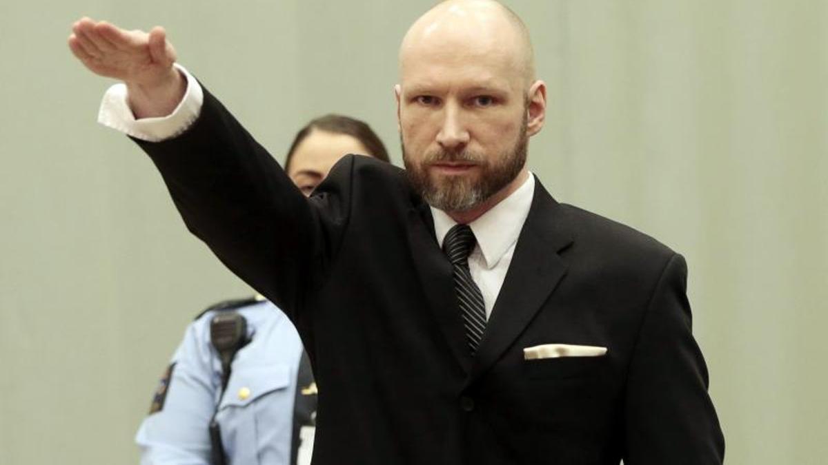 Anders Breivik, autor confeso del atentado de Noruega el pasado 22 de julio de 2011 en el que murieron 77 personas.