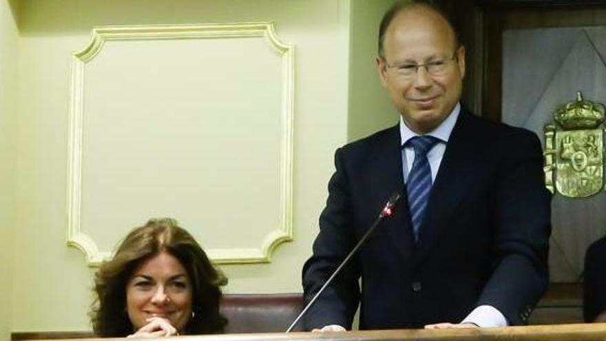 El diputado Mariano Pérez-Hickman, nuevo diputado en el Congreso tras la marcha de Santamaría.
