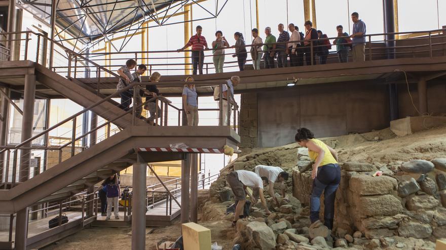 Visita guiada a la Cueva Pintada de Gáldar.