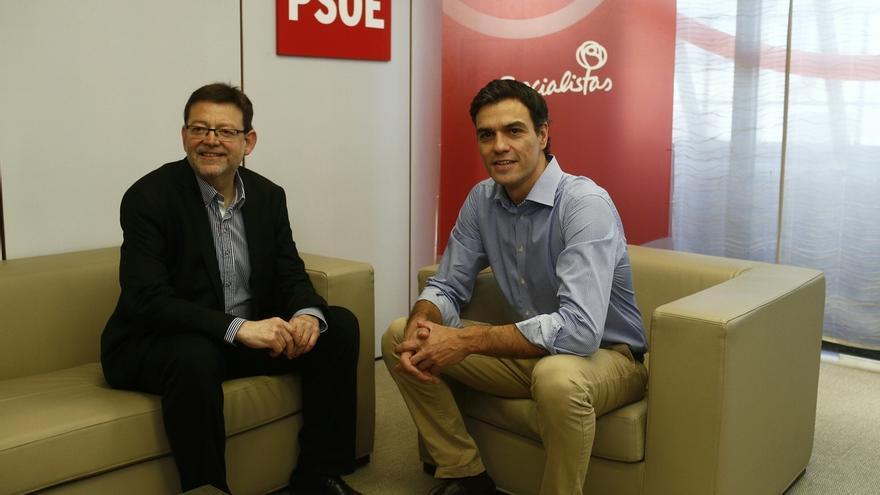 Pedro Sánchez, Zapatero, Ángel Gabilondo y Cándido Méndez arroparán a Puig en su toma de posesión como 'president'