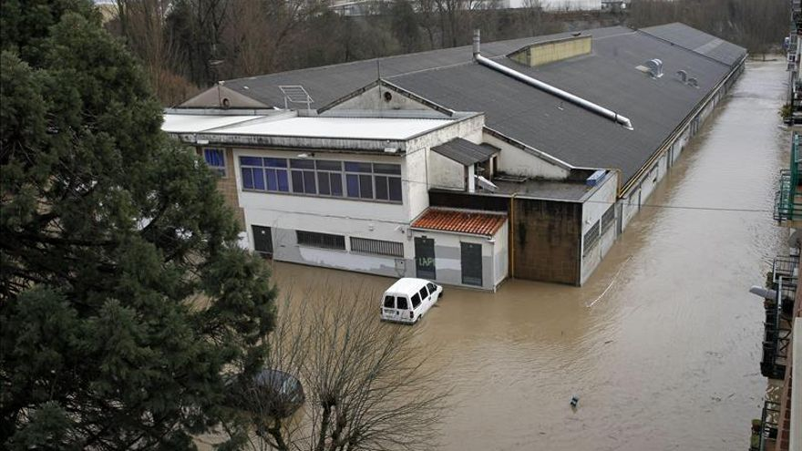 El Gobierno de Navarra mantiene el nivel 1 de alerta por inundaciones