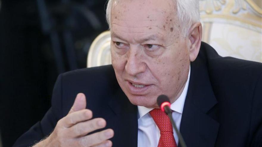 Margallo descarta nuevas sanciones a Rusia si se cumplen los acuerdos de Minsk
