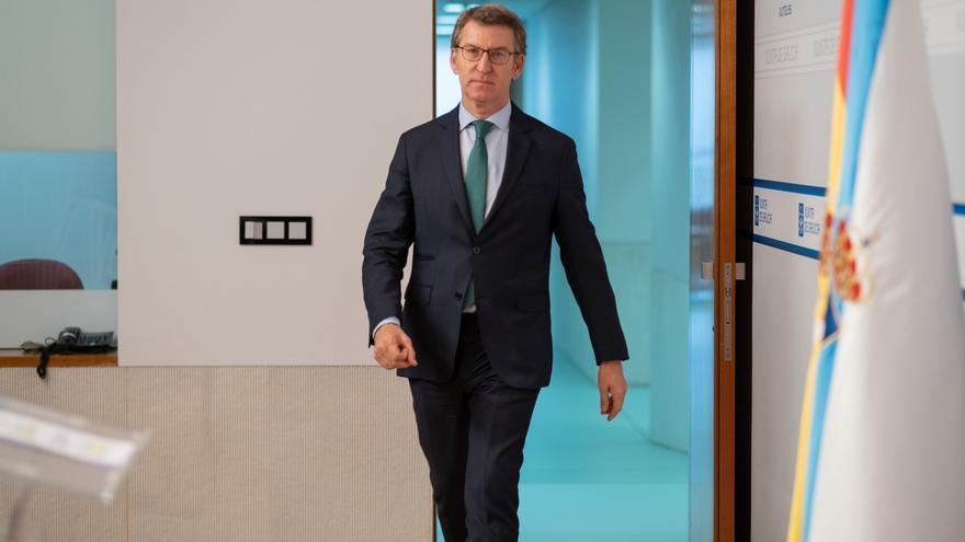 """Feijóo reclama al Gobierno """"liquidez"""" para las administraciones y que puedan aplazar tasas públicas"""