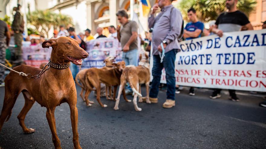 Imagen de una protesta anterior realizada en Santa Cruz