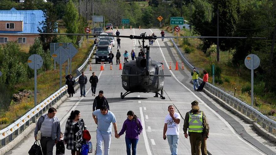 Bachelet viaja a la zona afectada por el terremoto de 7,6 en el sur de Chile