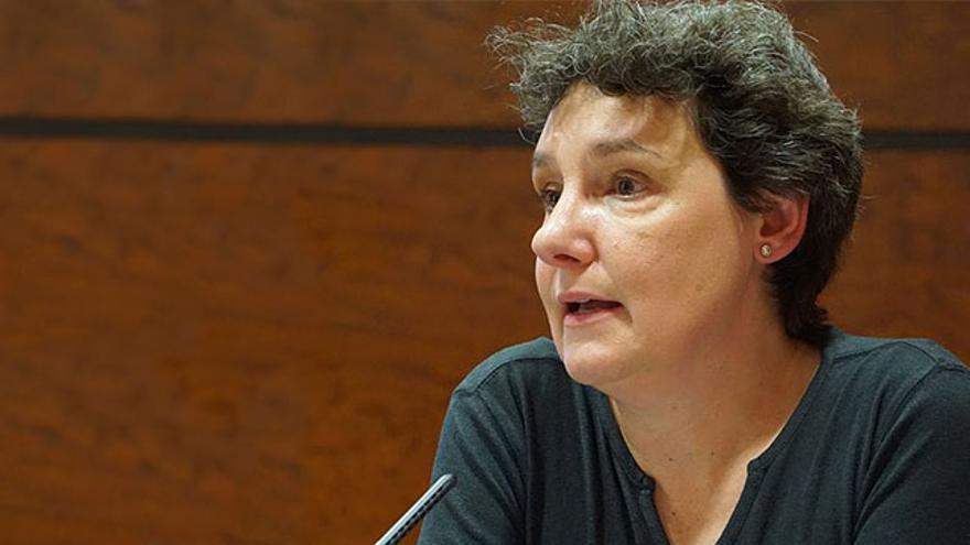 Beatriz Gimeno, diputada de Podemos en Madrid.