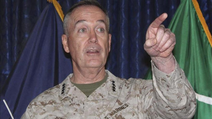 Obama designa al general Joseph Dunford como jefe del Estado Mayor Conjunto