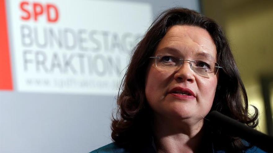 El SPD inicia la renovación tras su derrota electoral con un nuevo grupo parlamentario