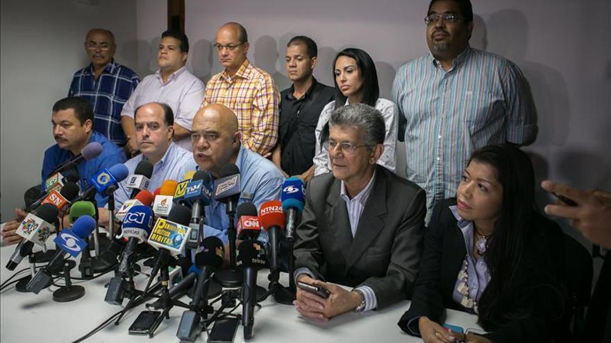 Supremo venezolano confirma la recepción de recursos contra diputados opositores