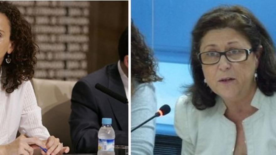 Pilar Lucio y Marisol Pérez