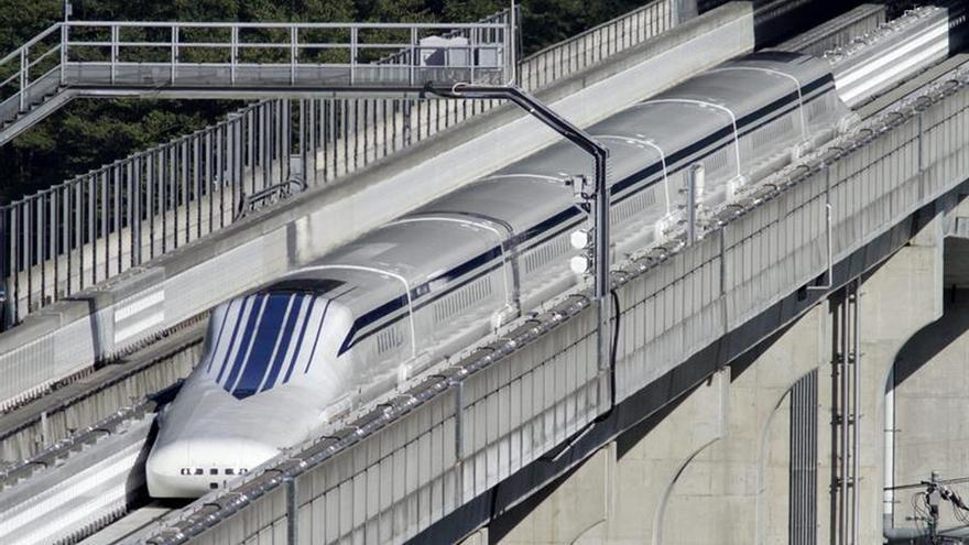 Pekín estrenará este año su primer tren de levitación magnética