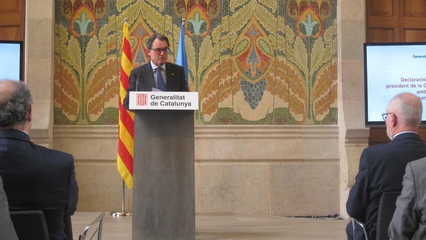 """Mas afirma que Cataluña debe estar en la UE """"sea cual sea"""" el resultado"""