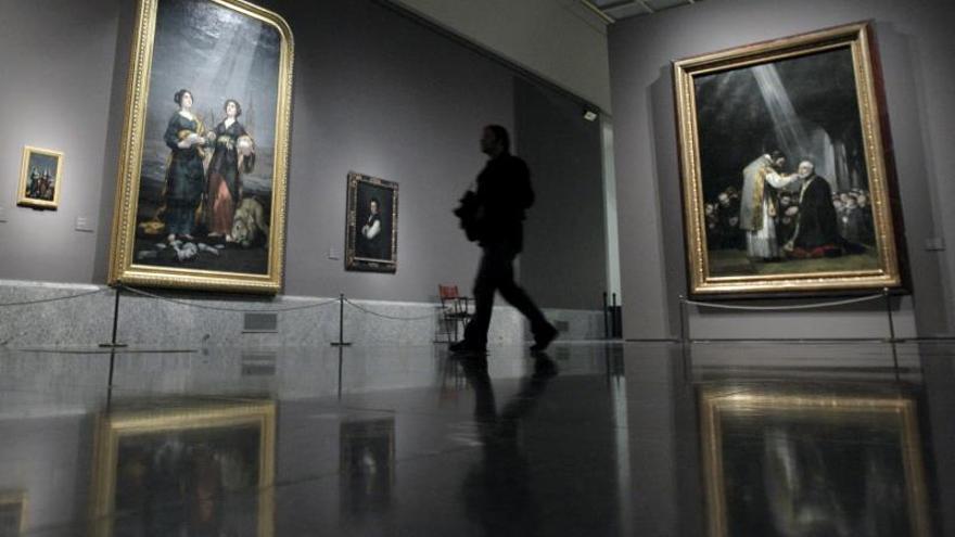 El Prado recibe como invitada una obra que Goya pintó el año de su apertura