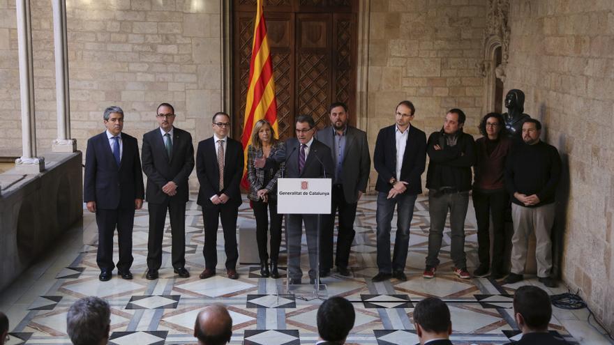 Acuerdo para la fecha y pregunta de la consulta soberanista catalana del 12 de diciembre