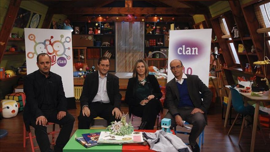 El canal infantil Clan (TVE) estrena serie y cambia de imagen al cumplir 10 años
