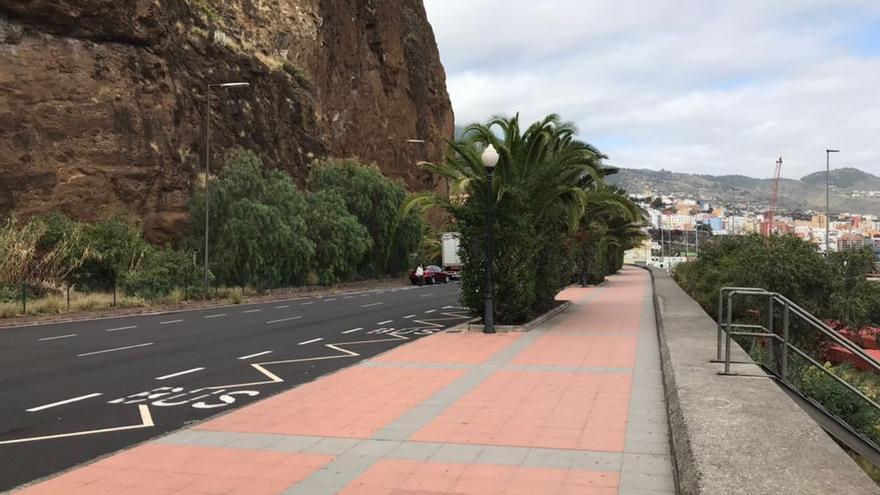 Paseo de Bajamar de Breña Alta.