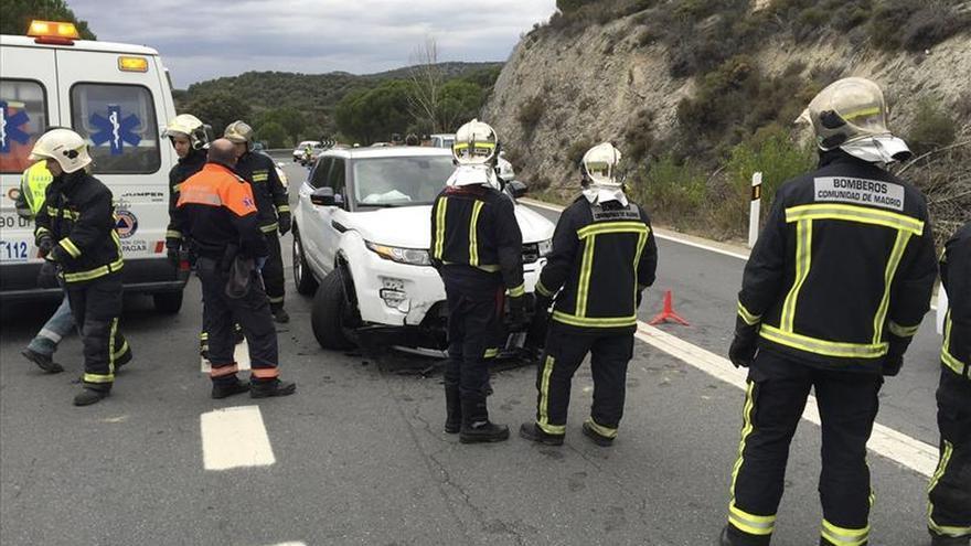 Motorista de 25 años muere en un accidente en la M-505 en Galapagar (Madrid)