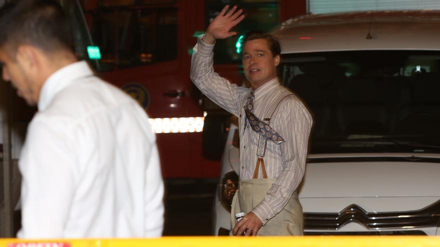Último día de Brad Pitt en Gran Canaria (Alejandro Ramos)