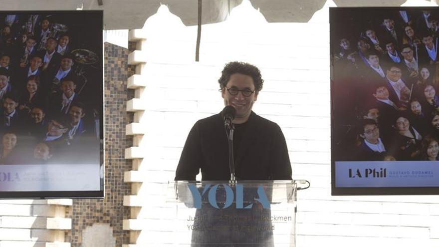 El director de orquesta Gustavo Dudamel, Medalla Páez de las Artes de 2018