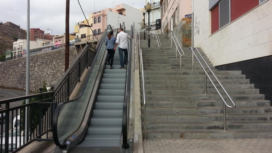 Escaleras mecánicas de San Antonio