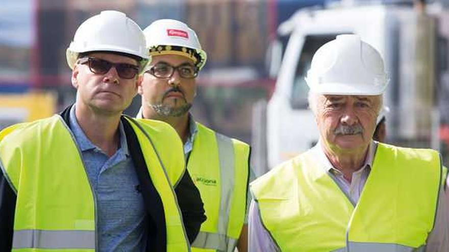 Ricardo Melchior, a la derecha de la imagen.