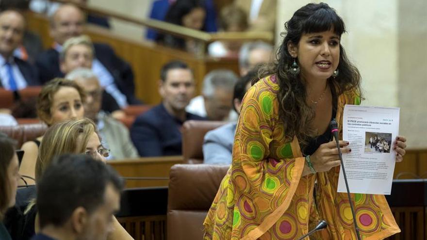 "Teresa Rodríguez propone una ""marea"" andaluza integrada en un Podemos federal"