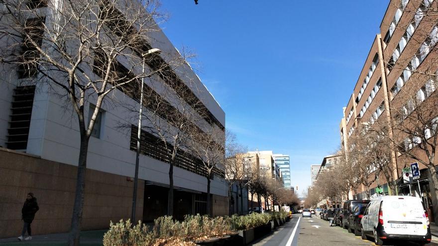 Colegio Grèvol de Barcelona, en el distrito de Sant Martí