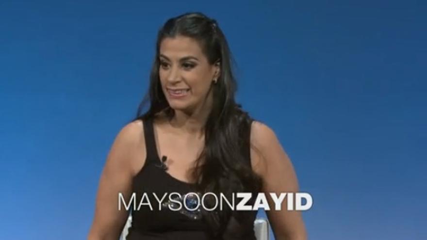 Maysoon Zayid en TEDWomen