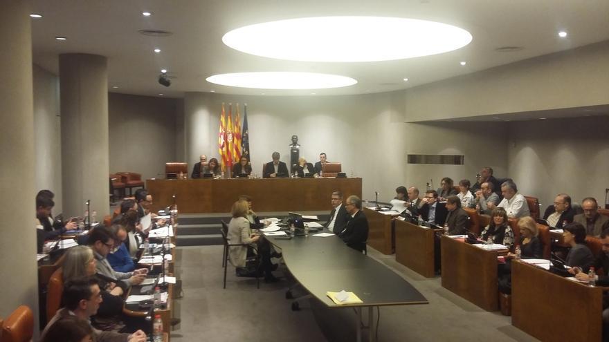 La Diputación de Barcelona rechaza una moción de apoyo a los condenados por bloquear el Parlamento catalán en 2011