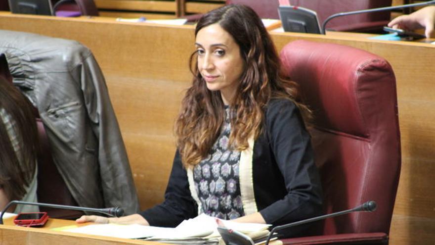 La diputada de Compromís Isaura Navarro.