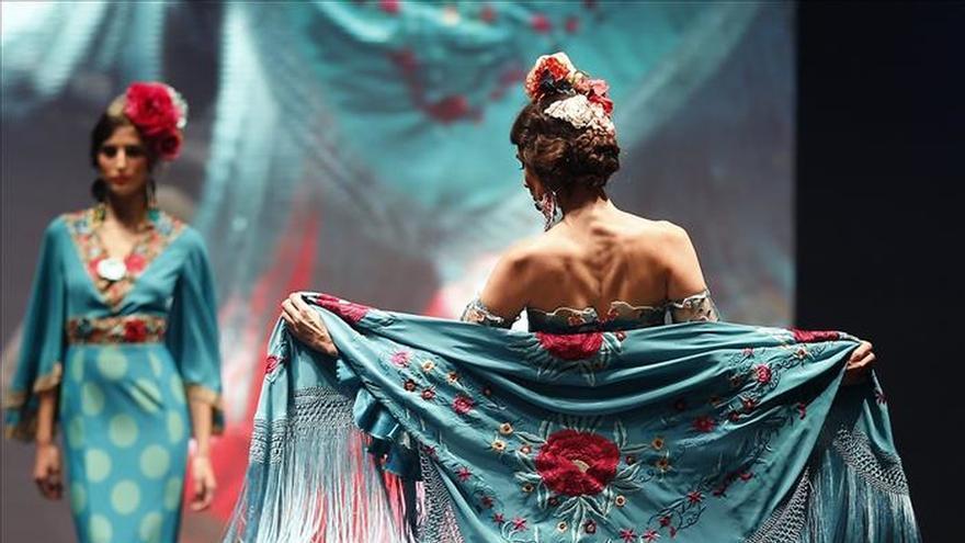 Si Katharine Hepburn se hubiese vestido de flamenca...