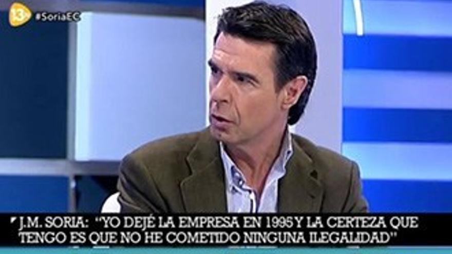 La primera entrevista a Soria tras dimitir mantiene bien a 'El Cascabel'