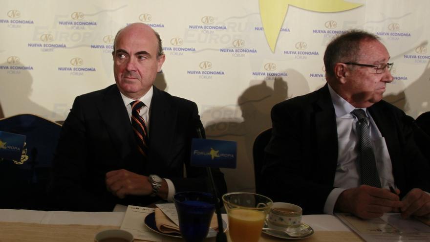 """De Guindos considera que """"Cataluña y España pueden lograr más juntos"""""""