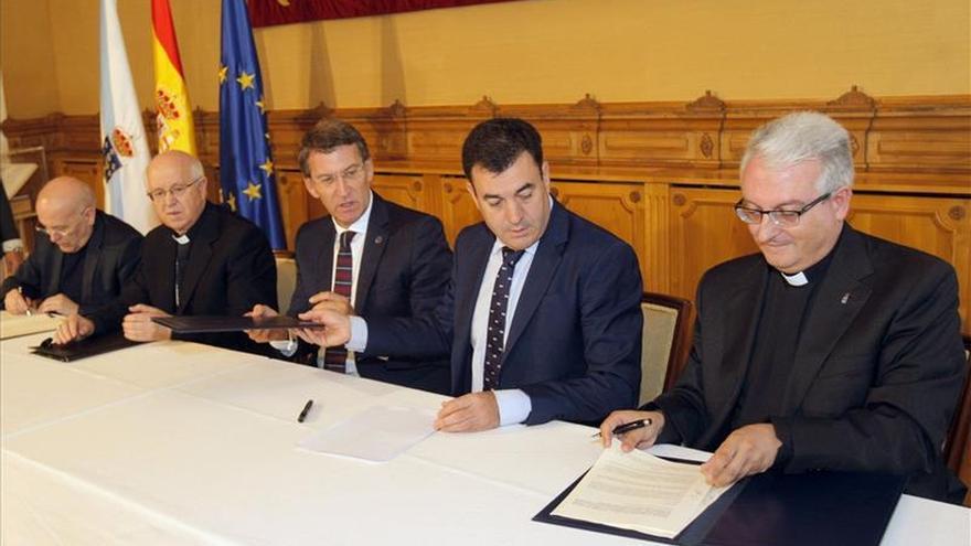 La Xunta y la Catedral firman un convenio que permitirá acometer las obras prioritarias