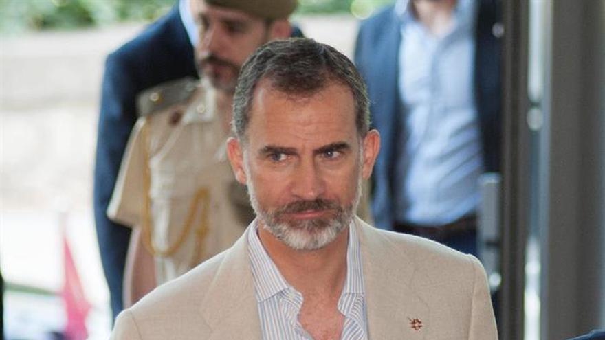El Rey vuelve mañana a Cataluña para el acto de despachos militares en Lleida
