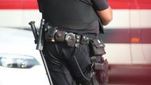 Imagen de archivo de un agente de la Policía Nacional en Las Palmas de Gran Canaria.