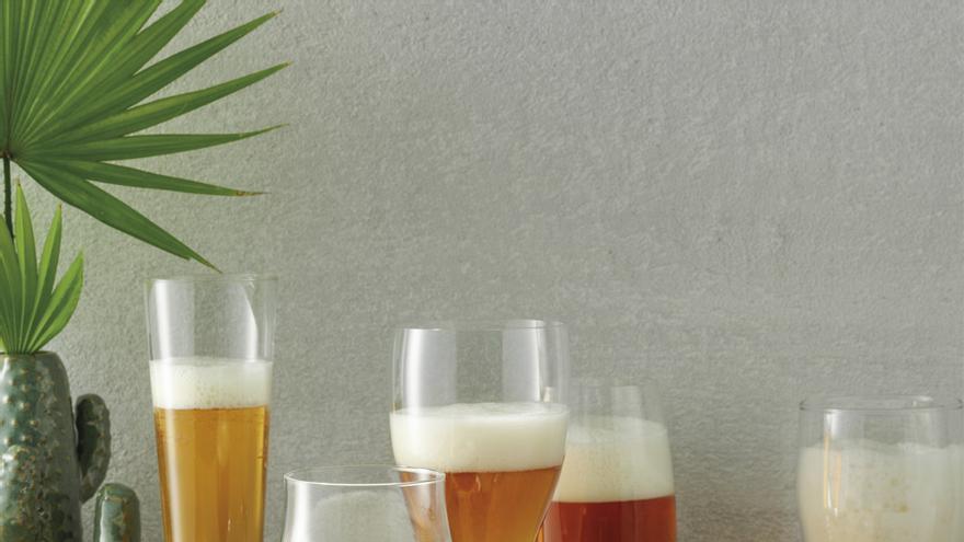¿Qué vaso es el adecuado para cada tipo de cerveza?