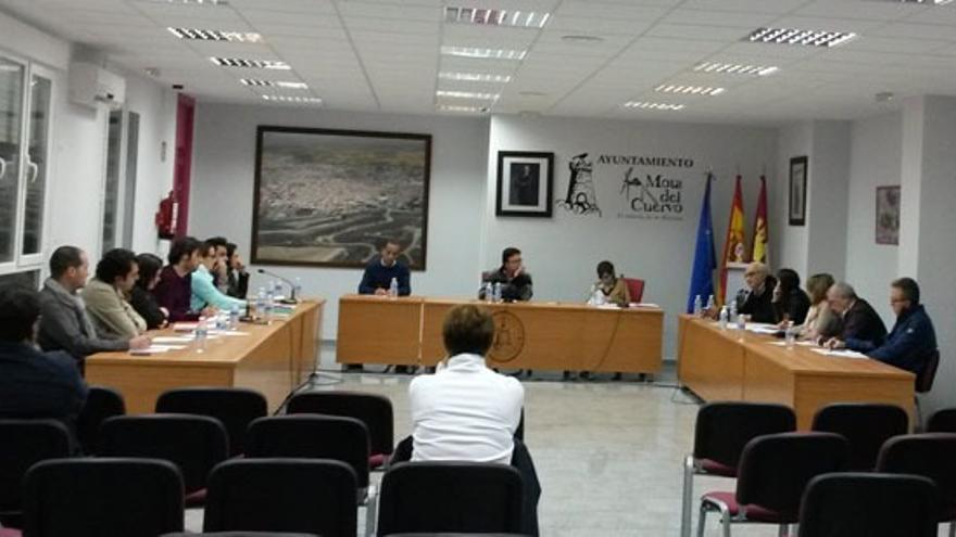 Pleno en Mota del Cuervo (Cuenca)
