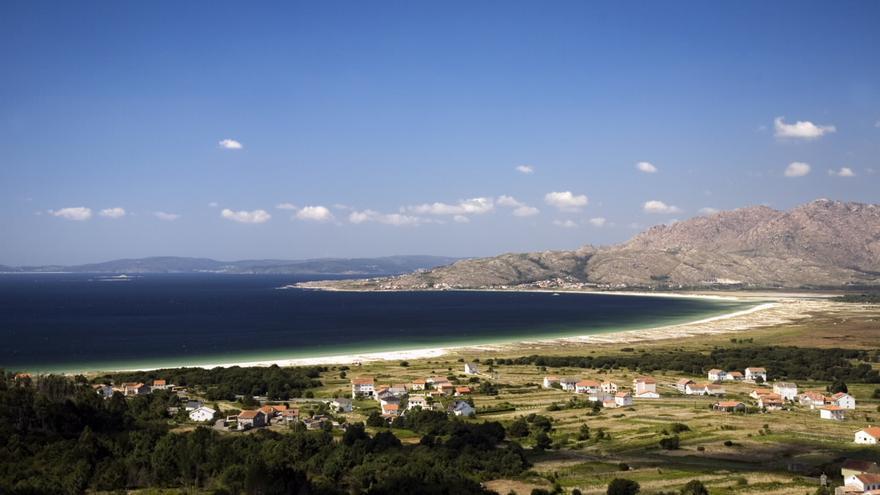 Playa de Carnota, en A Coruña.