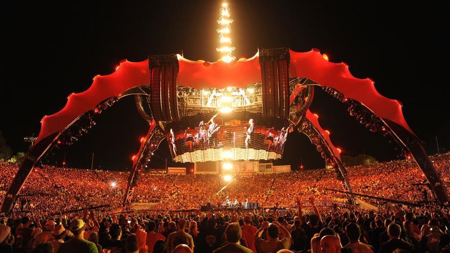 Fotograma de la cinta elegida sobre U2