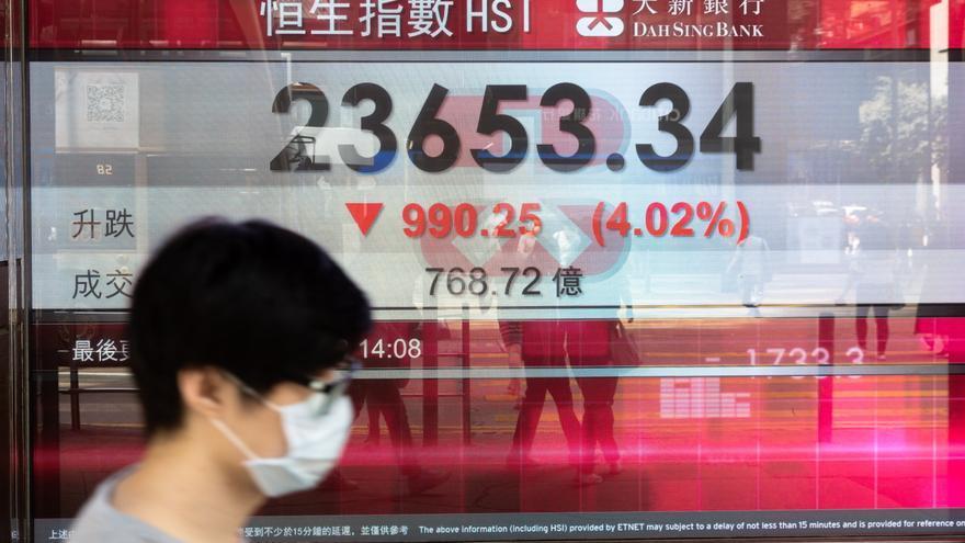 El Hang Seng pierde un 0,71 % ante los temores por nuevas variantes del virus