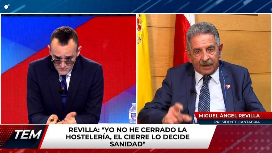 Risto Mejide y Miguel Ángel Revilla en 'Todo es mentira'