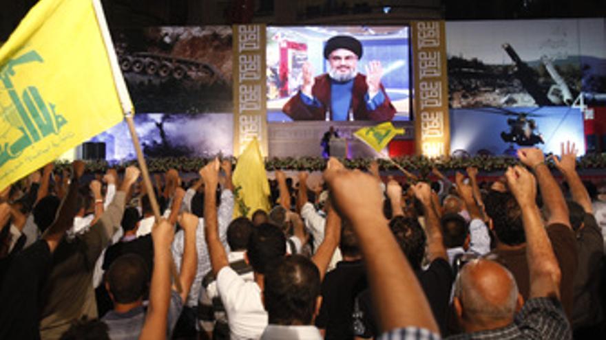 Hasan Nasralá, lider supremo del movimiento libanés Hezbola