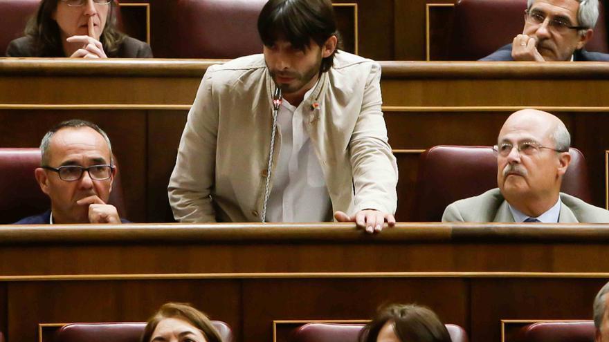 Álvaro Sanz, diputado IU. Foto: Congreso de los Diputados