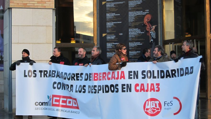 Ibercaja informa a sus trabajadores de que la for Ibercaja oficinas zaragoza