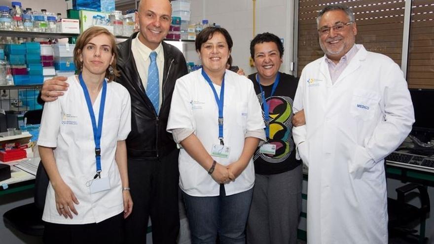 El grupo CDC de Canarias de Atención Primaria Tenerife y del Hospital de La Candelaria. (Fotografía cedida a Europa Press).
